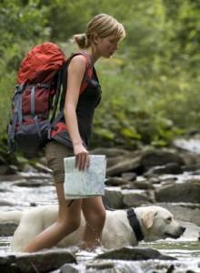Wandern mit Hund Ferienregion Oberhof